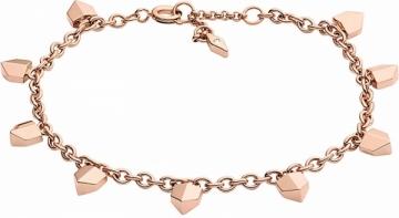Apyrankė Fossil Stylish pink gold bracelet JF02431791