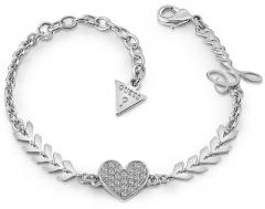 Apyrankė Guess Beautiful bracelet with heart UBB85085-S Apyrankės