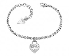 Apyrankė Guess Bracelet with heart UBB82104-S