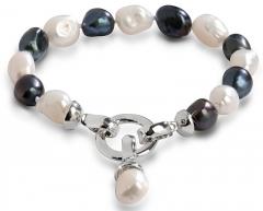 Apyrankė JwL Luxury Pearls Right pearl bracelet in two shades JL0317
