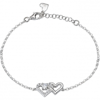 Apyrankė Morellato Silver Bracelet Combined Heart Cuori SAIV26