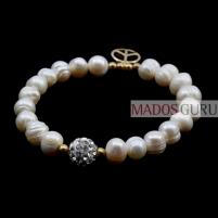 Perlų apyrankė P1443