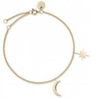 Apyrankė Rosefield Gold and Moon bracelet MSBG-J234