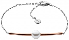 Apyrankė Skagen Fine steel bracelet with pearl SKJ0918998