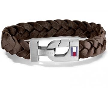 Apyrankė Tommy Hilfiger Brown woven bracelet TH2700874