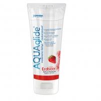 Aquaglide braškinis lubrikantas (100 ml) Oral lubes