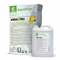 Aquastop Flex, 32 kg (A+B) (elastinga hidroizoliacija) Foundation flashing