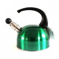 Arbatinukas met. 1.5L su švilpuku SECO žalias