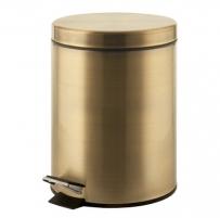 ARGENTA šiūkšliadėžė su pamina, bronzinė Kitchen trash cans