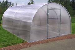 Arched polikarbonatinis surenkamas šiltnamis MASTER25C 3x6 Greenhouses