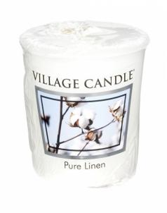 Aromatinė žvakė Village Candle Aromatic Votive Candle ( Pure Linen) 57 g Kvapai namams