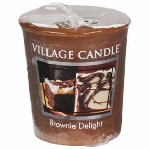 Aromatinė žvakė Village Candle Aromatic Votive Candle Chocolate Cake (Brownie Delight) 57 g Kvapai namams