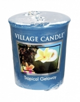 Aromatinė žvakė Village Candle Aromatic Votive Candle Weekend in the (Tropical Getaway) 57 g Kvapai namams