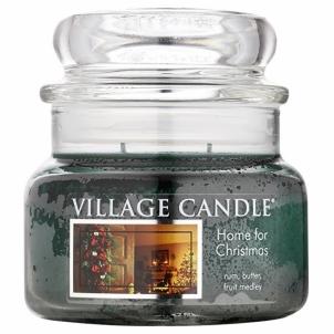 Aromatinė žvakė Village Candle Fragrant candle in glass The magic of Christmas (Home For Christmas) 269 g Kvapai namams