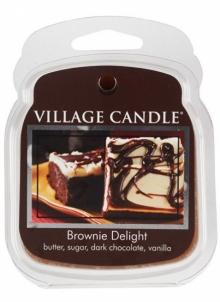Aromatinė žvakė Village Candle Soluble wax in aromalamp Chocolate cake (Brownie Delight) 62 g Kvapai namams