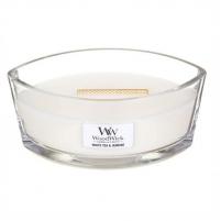 Aromatinė žvakė WoodWick Scented Candle Boat White Tea & Jasmine 453 g Ароматы для дома