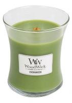 Aromatinė žvakė WoodWick Scented candle Evergreen vase 275 g Kvapai namams