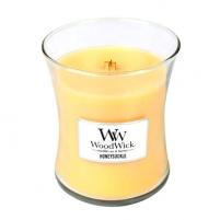 Aromatinė žvakė WoodWick Scented candle vase Honeysuckle 275 g Kvapai namams
