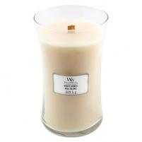 Aromatinė žvakė WoodWick White Honey 609,5 g Kvapai namams