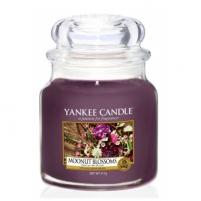 Aromatinė žvakė Yankee Candle (Moonlit Blossoms) 411 g Kvapai namams