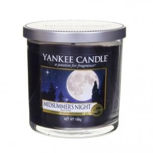 Aromatinė žvakė Yankee Candle Aromatic candle Décor small Summer Night (Midsummer`s Night) 198 g Kvapai namams