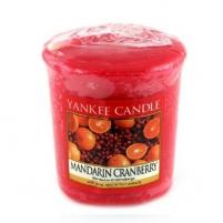 Aromatinė žvakė Yankee Candle Mandarin Cranberry Scented Candle 49g Ароматы для дома