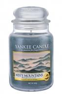 Aromatinė žvakė Yankee Candle Misty Mountains Scented Candle 623g Kvapai namams