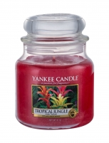 Aromatinė žvakė Yankee Candle Tropical Jungle Scented Candle 411g Kvapai namams
