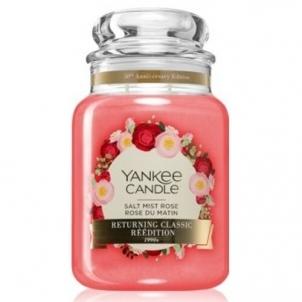 Aromatinė žvakė Yankee Salt Mist Rose 623 g Kvapai namams