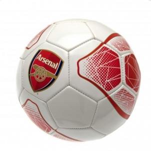 Arsenal F.C. futbolo kamuolys (Baltas/raudonas)