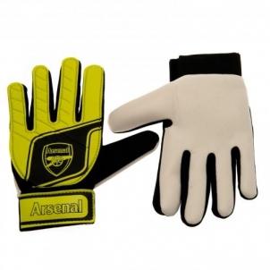 Arsenal F.C. vaikiškos vartininko pirštinės (Geltonos)