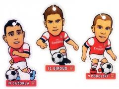 Arsenal F.C. žaidėjų formos oro gaivikliai