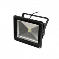 ART Lauko šviestuvas LED 30W,IP65, AC80-265V,black, 6500K- šalta balta šviesa
