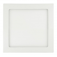 ART LED on plaster panel, square, 22*3.8cm, 18W, WW 3000K