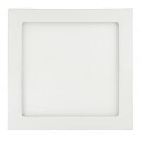 ART LED on plaster panel, square, 22*3.8cm, 18W, WW 3000K
