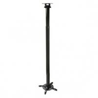 ART Projektoriaus laikiklis P-104 *110-197cm* juodas 15kg lubinis