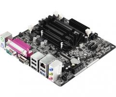 ASRock D1800B-ITX, J1800, DualDDR3-1333, SATA2, HDMI, D-Sub, mITX Pagrindinės plokštės