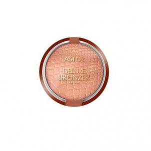 Astor bronzinė pudra veidui, kosmetikos 17g. Pudra veidui