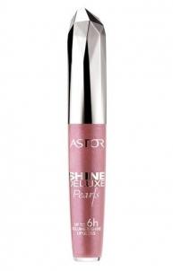 Astor Shine Deluxe Lūpų blizgis, kosmetikos 5,5ml 014 gintaro Blizgesiai lūpoms