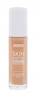Astor Skin Match Protect Foundation SPF18 Cosmetic 30ml Makiažo pagrindas veidui