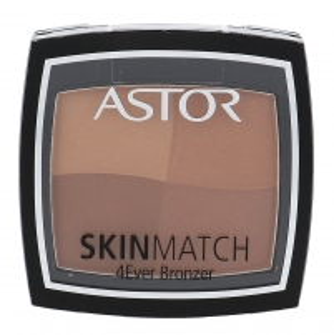 Astor veido pudra 4Ever Bronzer Cosmetic 7,65g 002 ruda Pudra veidui