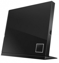 ASUS External Slim Blu-ray Writer, Black, SBW-06D2X-U/BLK/G/AS Cd, cd-rw, dvd, juke devices