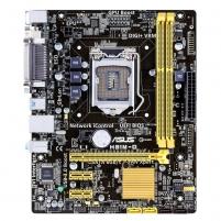 ASUS H81M-D, H81, DualDDR3-1600, SATA3, DVI, D-Sub, mATX