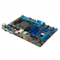 Asus M5A78L-M LX3 / AMD 760G (780L)/SB710 / 2 x DIMM, Max. 16GB, DDR3, Dual channel / Expansion: 1 x PCIe 2.0(x16)