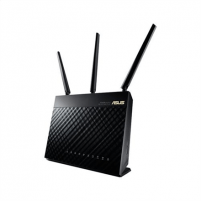 ASUS RT-AC66U Dual-band Wireless-AC1900 Gigabit Router, External antenna x 3, 2.4GHz/5GHz, 4 x RJ45 for 10/100/1000