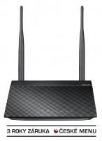 Asus RT-N12 N 300 Wireless Router, 4xLAN, 1xWAN, EZ switch Maršrutizatoriai kompiuteriams