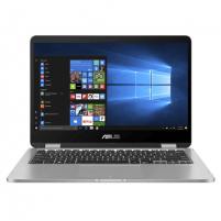 "Asus VivoBook Flip TP401MA-EC054T Light Grey, 14 "", FHD, 1920 x 1080 pixels, Glare, Intel Pentium Silver, N5000, 4 GB, Intel UHD Graphics 605, Windows 10 HOME S, Wi-Fi 5(802.11ac), Bluetooth version 4.1, Keyboard language English, Warranty 24 month( Portable computers"