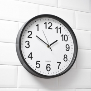 Atbulas sieninis laikrodis Interjero laikrodžiai