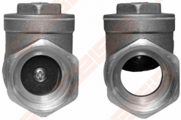 """Atbulinis gravitacinis vožtuvas horizontalus 1/2"""" Check valves"""