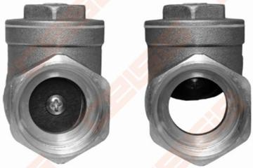 """Atbulinis gravitacinis vožtuvas horizontalus 1"""" Check valves"""